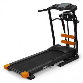 Klarfit Tread Advanced, běžecký pás s měřičem pulsu, pruhovým masážním zařízením, lavička na zdvihy, černý