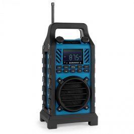 Oneconcept DuraMaxx 862-BT-BL, stavební reproduktor, modrý, MP3, USB, S