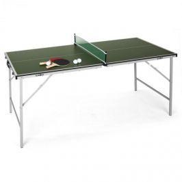 Klarfit King Pong, ping-pongový stůl, sklápěcí, zelený