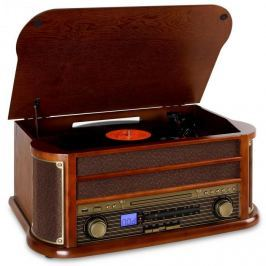 Auna Belle Epoque 1908, retro stereo, bluetooth, USB, CD,MP3