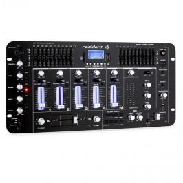 Resident DJ Kemistry 3 B, 4 kanálový DJ mixážní pult, bluetooth, USB, SD, phono, černý