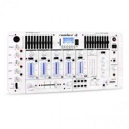 Resident DJ Kemistry 3 WH, 4 kanálový DJ mixážní pult, bluetooth, USB, SD, phono, bílý