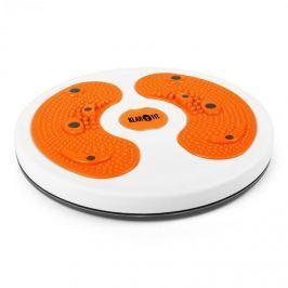Klarfit myTwist Body Twister, rotana, masáž chodidel, oranžo