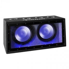 """Auna Cannonbeat TX12, 2x 30 cm (12 """"), 2x 300 W, LED, pasivní auto subwoofer"""