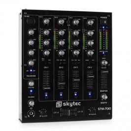 Skytec STM-7010, 4kanálový DJ mixážní pult, USB, MP3, EQ