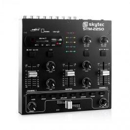 Skytec STM 2250, USB SD MP3 FX, 4 kanálový mixér