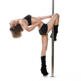 Klarfit Luxor, taneční tyč, 2,74 m, 45 mm, otáčecí/statická, profesionální tyč