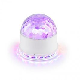 Ibiza UFO-ASTRO-WH LED světelný efekt RGB bílá barva