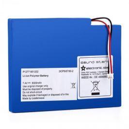 Auna CS8, dodatečný akumulátor pro boombox Soundstorm, lithium-polymerový akumulátor
