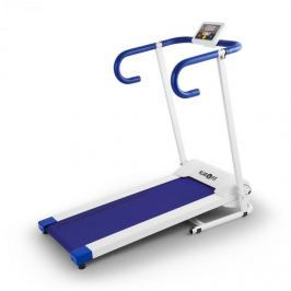 Klarfit Pacemaker X1, běžecký pás, 10 km/h, tréninkový počítač, bílo-modrý