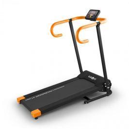 Klarfit Pacemaker X1, běžecký pás, 10 km/h, tréninkový počítač, černo-oranžový
