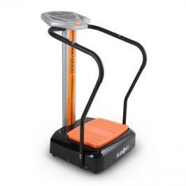 Klarfit Goodvibe, vibrační stroj na cvičení s tréninkovým počítačem, měřičem pulsu, kolečky