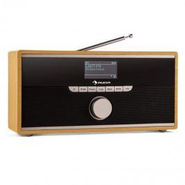 Auna Weimar DAB-rádio, internetové rádio, bluetooth, DAB +, FM, budík, přenosné