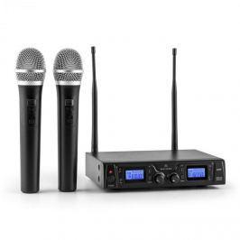 Malone Duett Pro V1, 2 kanálový UHF bezdrátový mikrofonní set, dosah 50 m