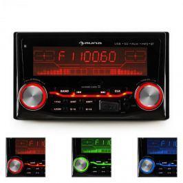 Auna MD-200BT autorádio, USB, SD, MP3, bluetooth, 3 barvy
