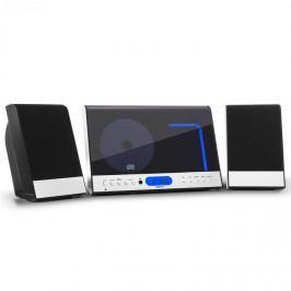 Oneconcept Vertical 90, stereo systém, CD, USB, MP3, SD, AUX, černý