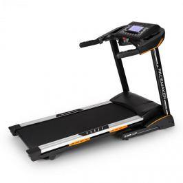 CAPITAL SPORTS Pacemaker X30, běžecký pás, profi domácí trenér, 3 koně, 22 km / h, měřič pulsu, černý