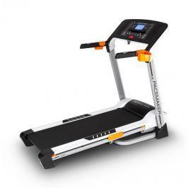 CAPITAL SPORTS Pacemaker X20, běžecký pás, profi domácí trenér, 1,75 koní, 16 km/h, měřič pulsu, stříbrný