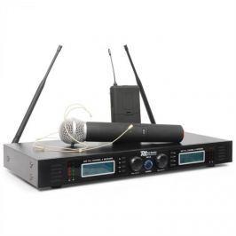 Power Dynamics PD732C, 2 x 16 kanálový UHF bezdrátový mikrofonní systém