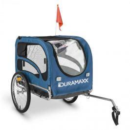 DURAMAXX King Rex, 250l, přívěs na kolo pro psa, ocelové trubky, 40 kg