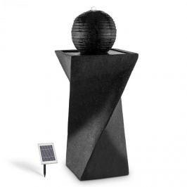 Blumfeldt DURAMAXX Schönbrunn, 20 l/h, solární kulovitá fontána s LED, čedič