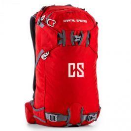 CAPITAL SPORTS CS 30, 30 l, batoh na sport a volný čas, nylon odpuzující vodu, červený