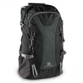 CAPITAL SPORTS CS 38, 38l, batoh na turistiku a volný čas, nylon odpuzující vodu, černý