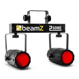 Beamz 2-Some, sada dvou LED reflektorů v RGBW s mikrofonem