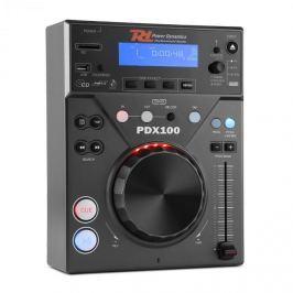 Power Dynamics PDX100, DJ CD přehrávač s CD, USB, SD a MP3