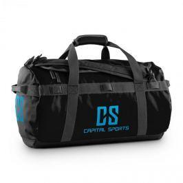 CAPITAL SPORTS Travel S, 45l, sportovní taška/batoh, odpuzující vodu, černá