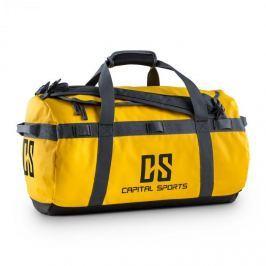 CAPITAL SPORTS Travel S, 45l, sportovní taška/batoh, odpuzující vodu, žlutá