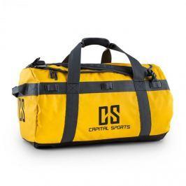 CAPITAL SPORTS Travel M, cestovní taška, batoh, 60 l, nepromokavý, žlutý