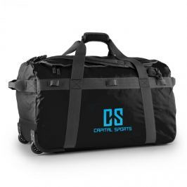 CAPITAL SPORTS Travel L, cestovní taška, batoh, 90 l, vozík, nepromokavý, černý