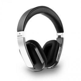 Auna Elegance, bluetooth NFC sluchátka, akumulátor, handsfree, syntetická kůže, hliník, aptX