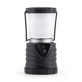 Yukatana Yucatana Yandromeda, černá kulatá LED kempingová lampa, 400 lumen, 12 m, 150 h