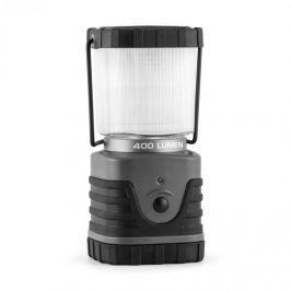 Yukatana Yindus, šedá, kempingová LED lampa, rohová, 400 lumenů