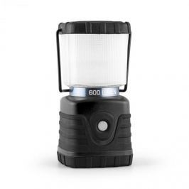 Yukatana Yucatana Yorion, černá LED kempingová lampa, 600 lumen, 150 h, 15 m, akumulátor, hranatá