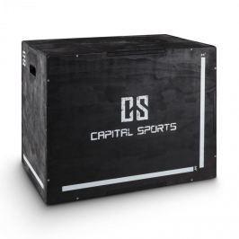 "CAPITAL SPORTS Shineater Plyo Box se třemi výškami 20 ""24"" 30 "", černý"