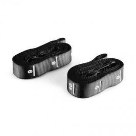 CAPITAL SPORTS Addict, černý nylonový popruh, 2 ks, karabinový hák, soutěžní standard