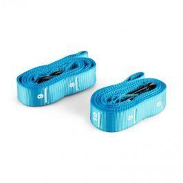 CAPITAL SPORTS Addict, modrý, nylonový popruh, pás, 2 kusy, sada, karabinový hák, soutěžní standard