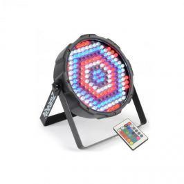 Beamz FlatPAR, 186 x 10 mm LED, PAR reflektor, RGBW, LED, DMX, IR, dálkový ovladač