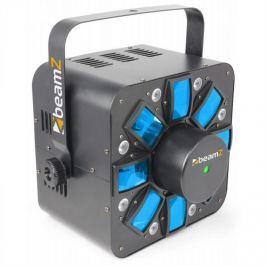 Beamz Multi Acis III, LED světelný efekt, stroboskop, laser, RGBAW, včetně držáku