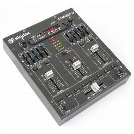 Skytec STM-2270, 4 kanálový mixér, bluetooth, USB, SD, MP3, FX