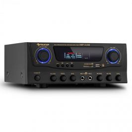 Auna Amp-2, HiFi karaoke zesilovač, 100 W max., USB, SD, MP3