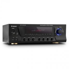 Auna AMP-3800 USB, černý, 5.1kanálový surround přijímač, 600 W max., USB, SD, FM