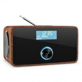 Auna DABStep, ořech, DAB/DAB+ digitální rádio, bluetooth, FM, RDS, budík