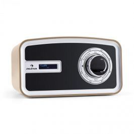 Auna Sheffield, moka, retro digitální rádio, DAB +, FM, baterie