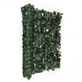 Blumfeldt Fancy Dark Ivy, tmavě zelený břečťan, plot na ochranu před pozorováním, ochrana před větrem, 300 x 100 cm