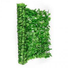 Blumfeldt Fancy Dark Ivy, světle zelený břečťan, plot na ochranu před pozorováním, ochrana před větrem, 300 x 150 cm