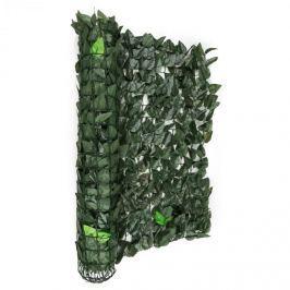 Blumfeldt Fancy Dark Ivy, zelený mix listů, plot na ochranu před pozorováním, ochrana před větrem, 300 x 100 cm